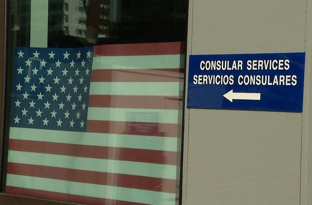Alertan por demoras de hasta dos meses para obtener la visa para viajar a EE.UU.