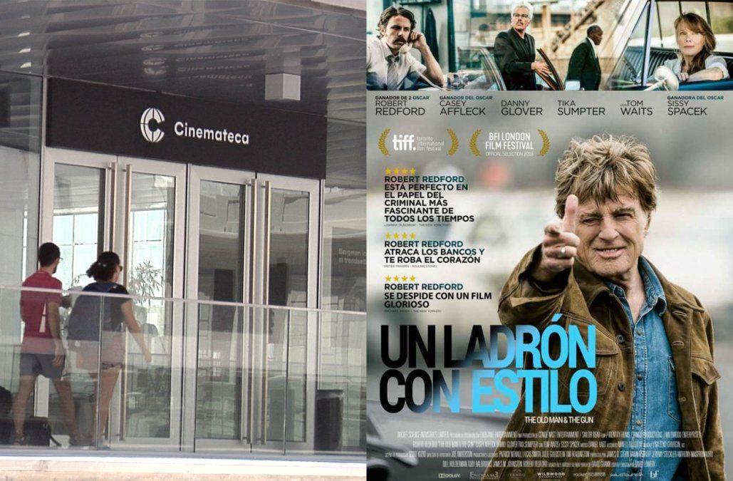 Para ver en el cine: Un ladrón con estilo y Festival de Cinemateca