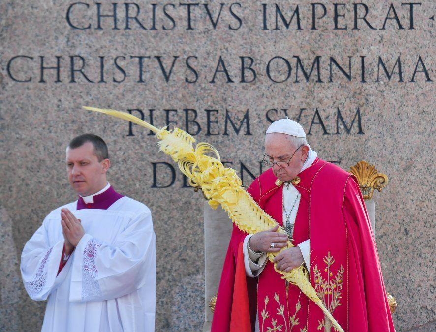 Contra el triunfalismo y la tentación de ser mediático, principales puntos del Papa el Domingo de Ramos
