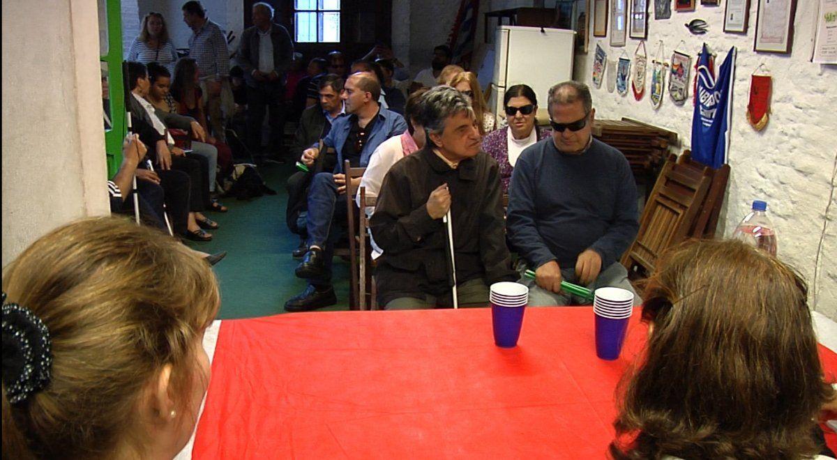 Beneficiarios del Centro Cachón para ciegos y personas con baja visión, reclaman nuevamente contra traslado