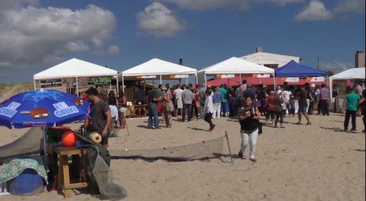Rocha celebra la Camaronada en Barra de Valizas