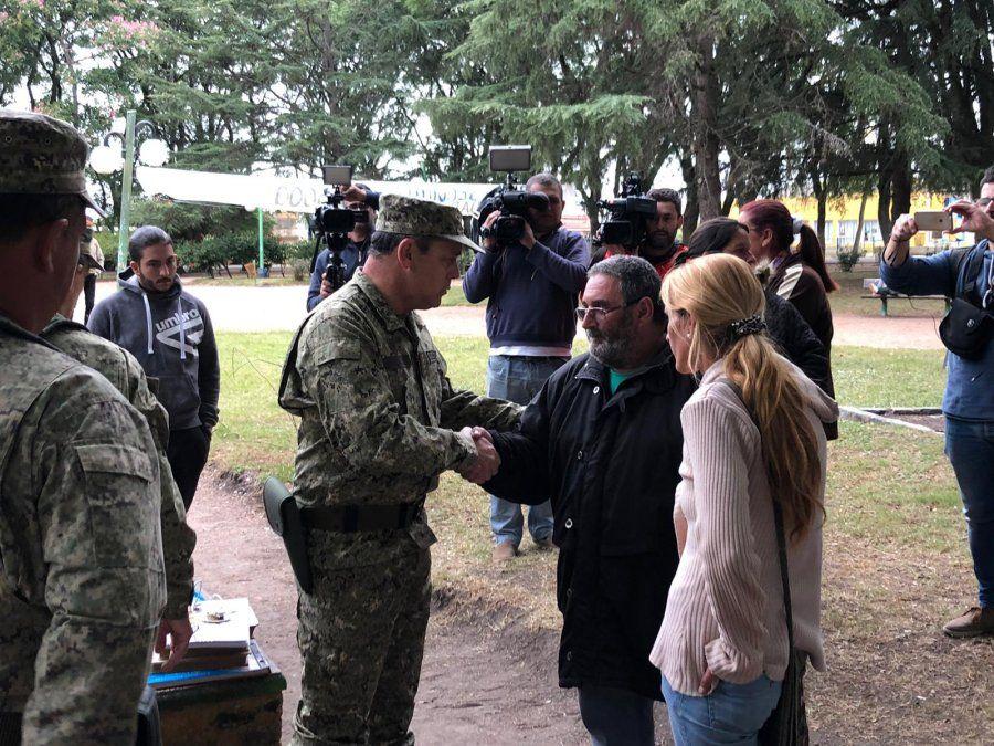 Familia Onrrubio pide que la Armada se sume a la búsqueda de Micaela