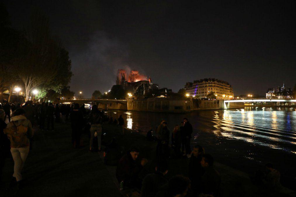Lo que dejó el incendio en la catedral de Notre Dame