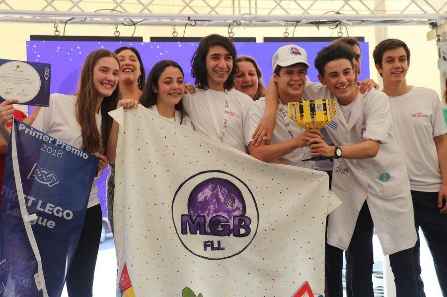 Los integrantes de Mig_Botics