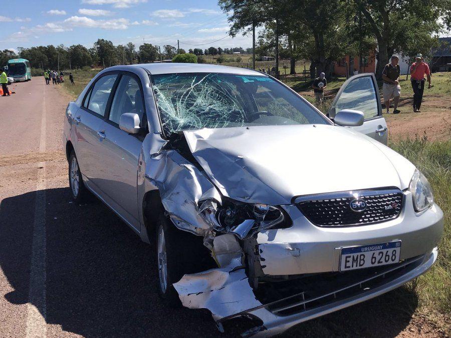 Siniestro fatal en Melo dejó como saldo a dos personas fallecidas
