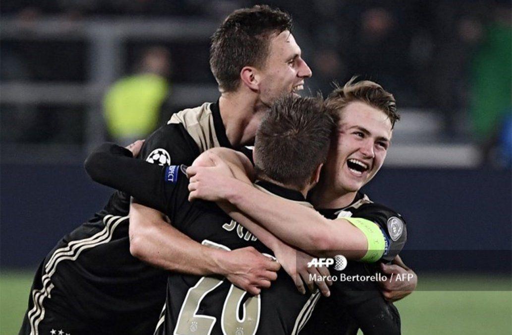 El Ajax dejó sin el sueño de la Champions a la Juventus de Ronaldo