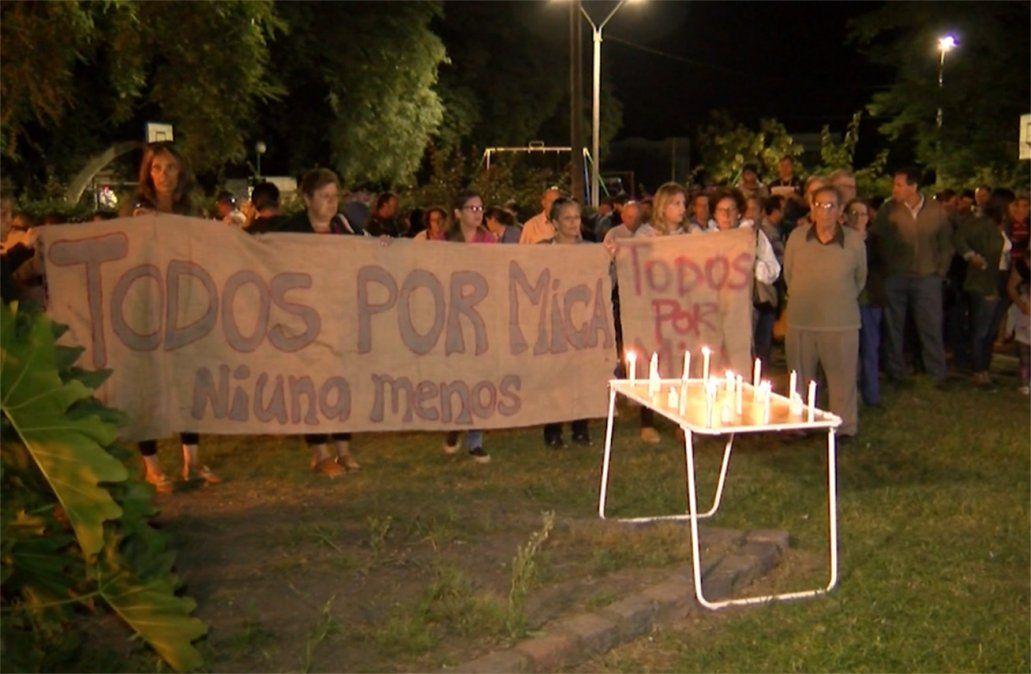 Convocan a concentración por Micaela Onrrubio a tres semanas de su desaparición
