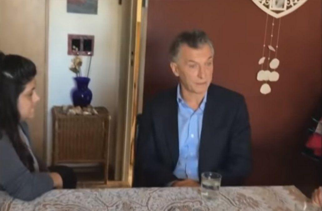 En un video casero Macri anuncia medidas económicas ante aceleración inflacionaria