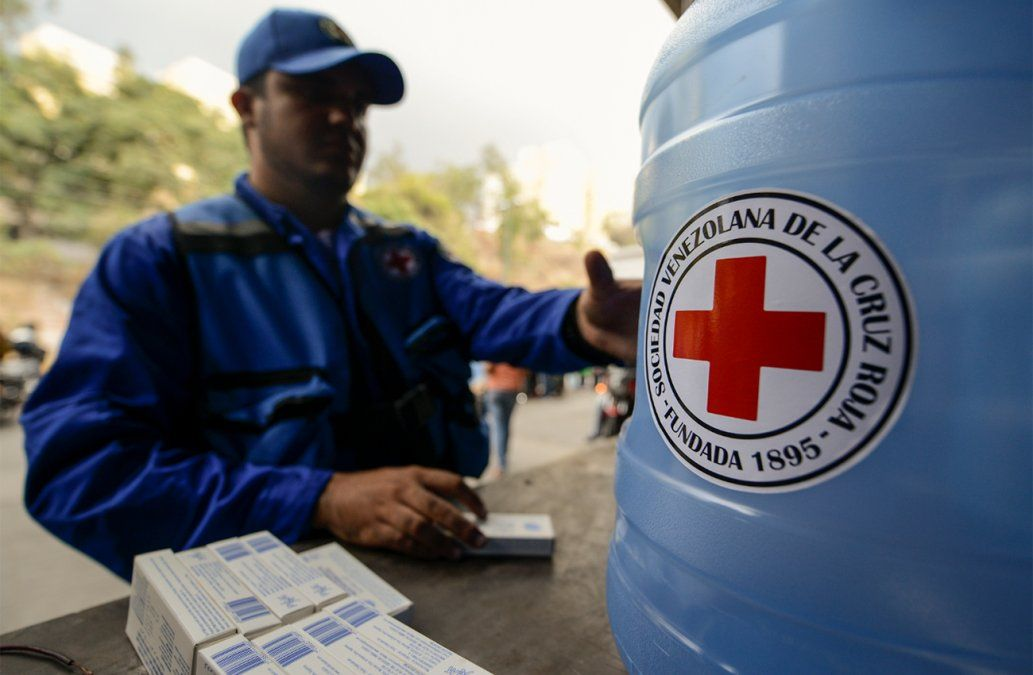 La Cruz Roja comenzó a repartir ayuda humanitaria en Venezuela