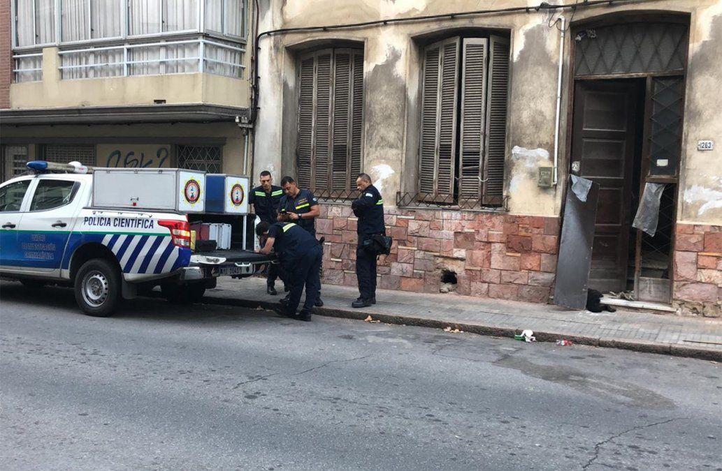 Copamiento en Palermo: agredió a dueña de casa y fue detenido con dinero