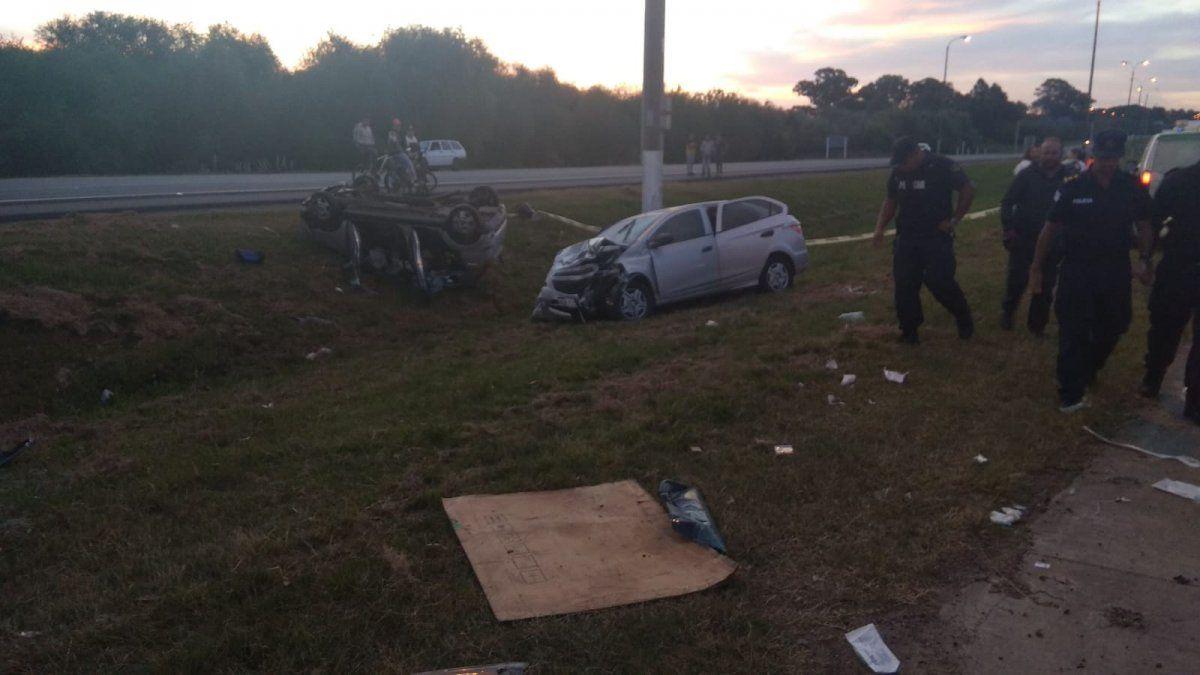 Colisión entre dos vehículos en ruta 1 dejó como saldo una mujer fallecida