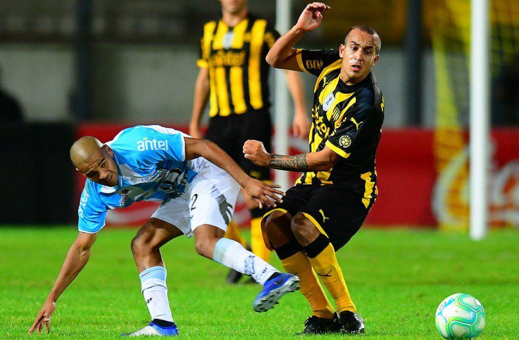 Guzman Pereira luchador incansable en Peñarol
