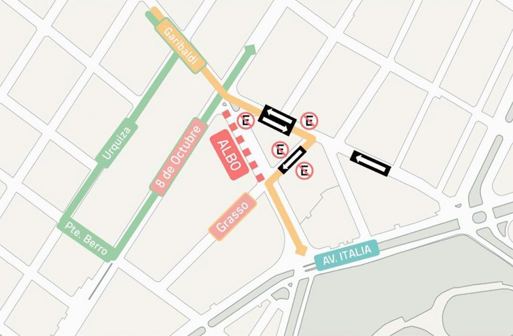 Comienza obra de ensanche de calle Albo, previa a construcción del túnel de avenida Italia