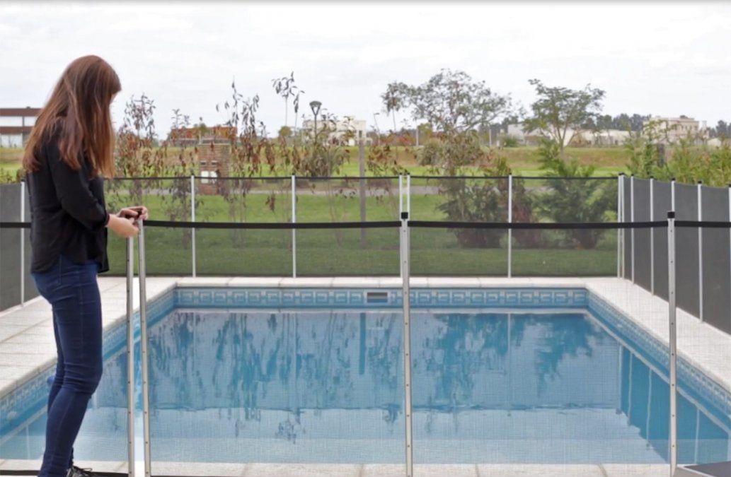 Proponen proyecto que exige colocación de barreras de seguridad para niños en piscinas