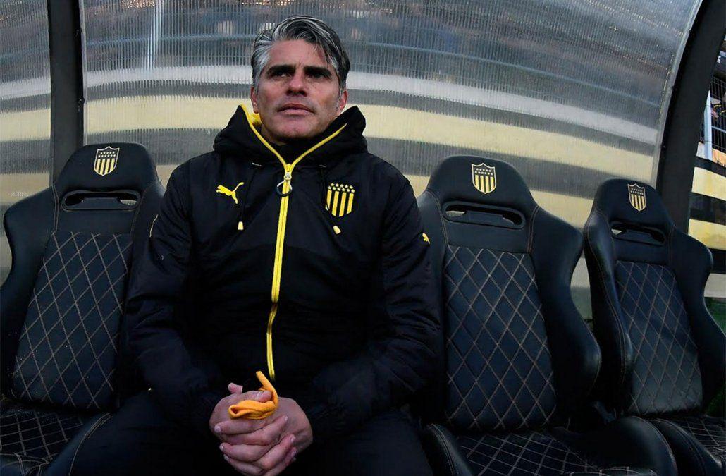 Diego López en uno de sus principales desafíos desde que llegó a Peñarol
