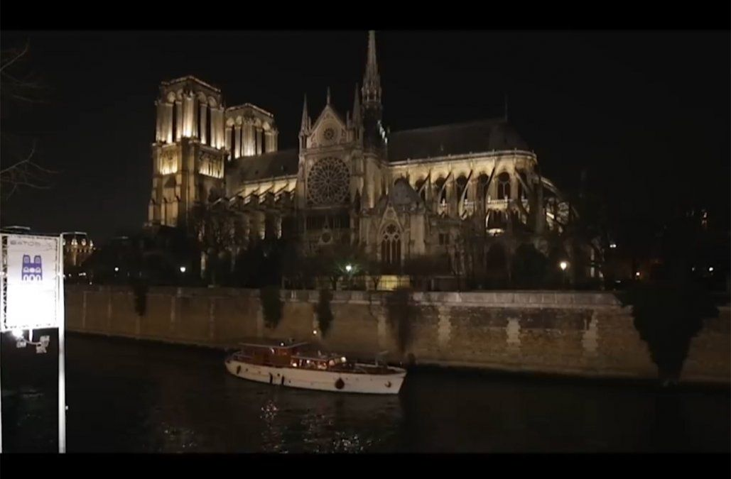 La icónica catedral de Notre Dame, protagonista en el cine