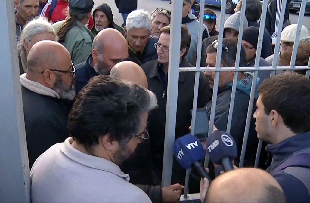 Desocuparon Montevideo Gas tras orden judicial y la presencia de la Policía