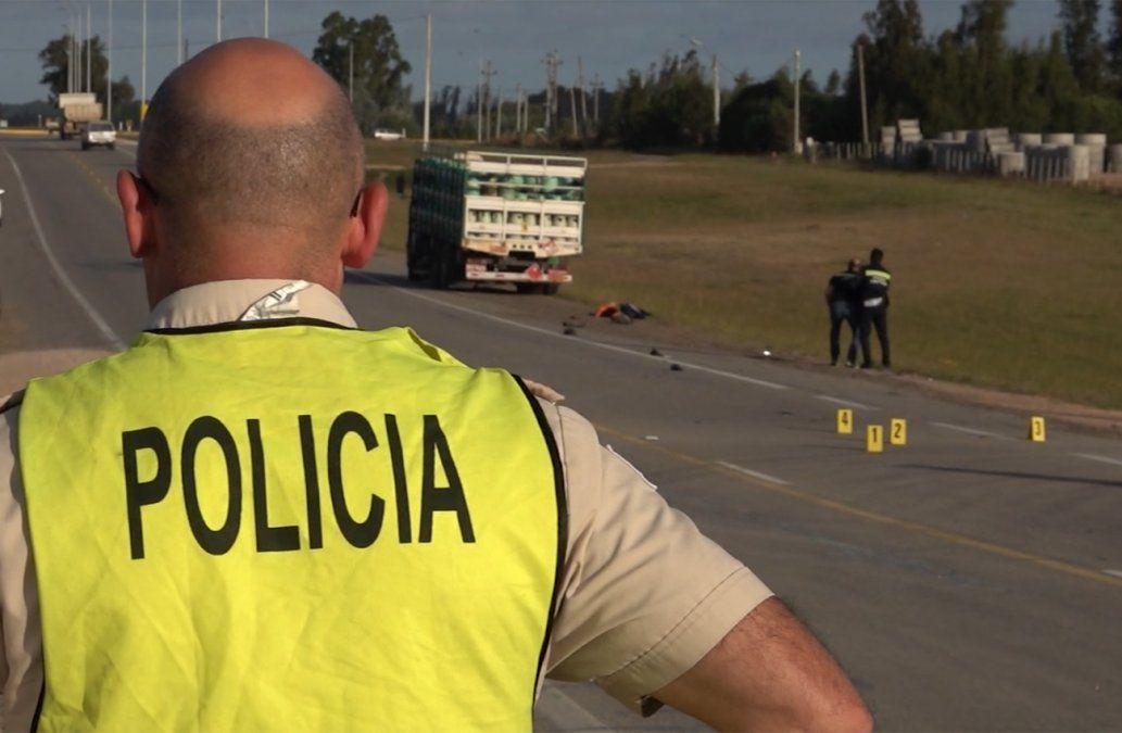 Un joven perdió la vida en un accidente de tránsito tras ser embestido por un camión