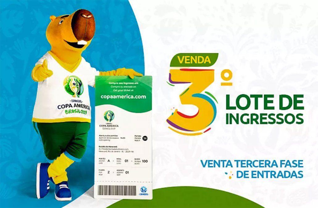 Foto: web oficial de la Copa América Brasil 2019.