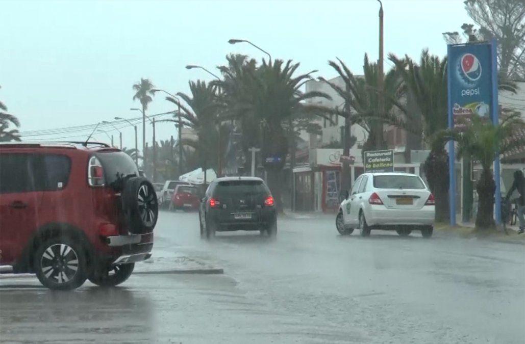 Meteorología actualizó la advertencia por persistencia de tormentas y lluvias