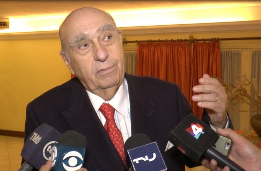 Sanguinetti: el gobierno no ha estado claro y se esconde atrás del juez sobre caso Petrobras