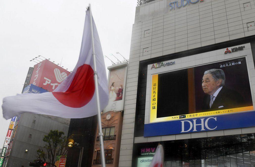 Emperador japonés Akihito abdicó para dejar a su hijo Naruhito