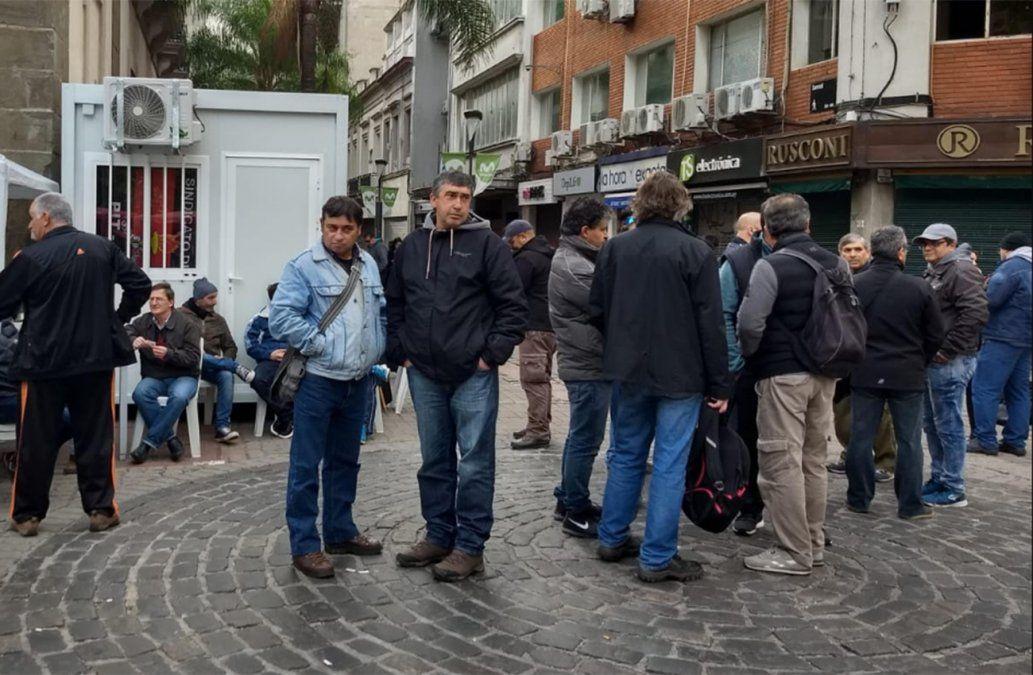 Obreros de Montevideo Gas iniciaron huelga de hambre