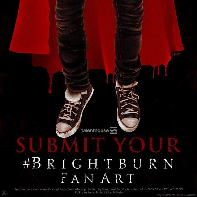 Lanzan concurso de gráfica para la película Brightburn El Hijo de la Oscuridad