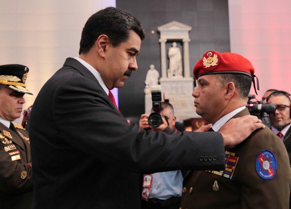 Maduro y Figuera cuando había confianza mutua. En el gobierno sostienen que el jerarca fue despedido.