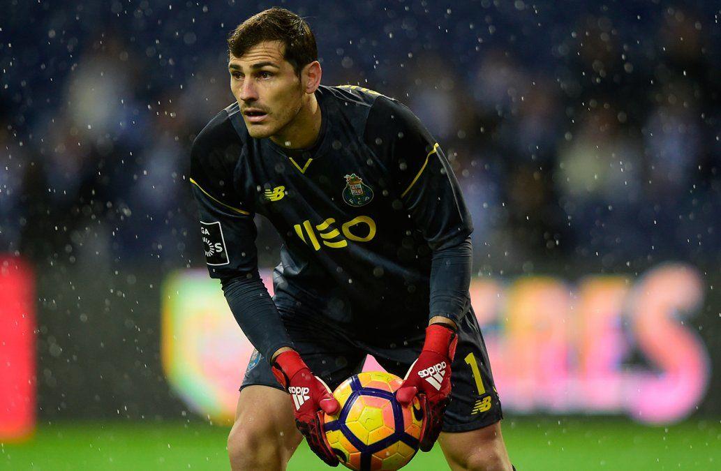 Iker Casillas, bien y estable, tras sufrir un infarto de miocardio