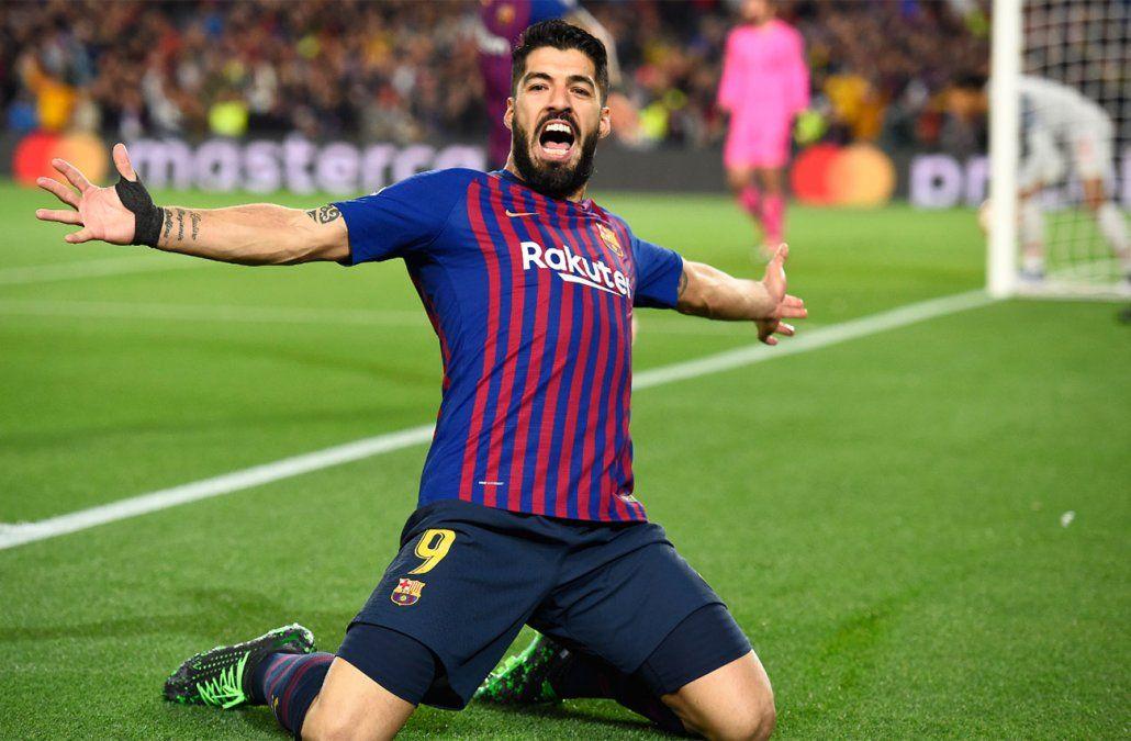 Con uno de Suárez y dos de Messi, Barcelona venció a Liverpool en la semifinal