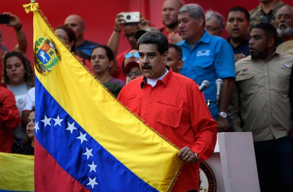 Maduro cantó victoria y pide investigar acciones golpistas de Estados Unidos contra Venezuela