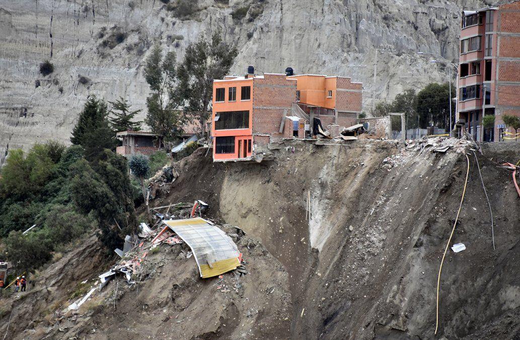 Deslave en Bolivia deja tres desaparecidos y 66 viviendas destruidas