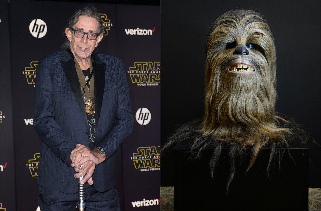 Murió Peter Mayhew, el actor que interpretó a Chewbacca en Star Wars