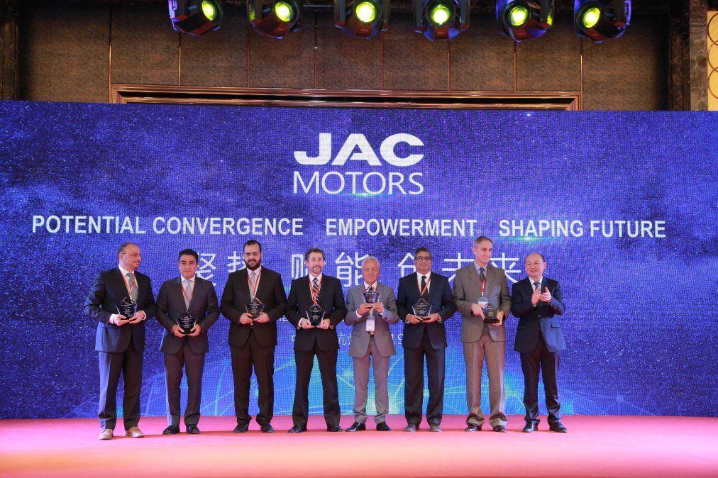 JAC Motors Uruguay distinguido como mejor distribuidor global