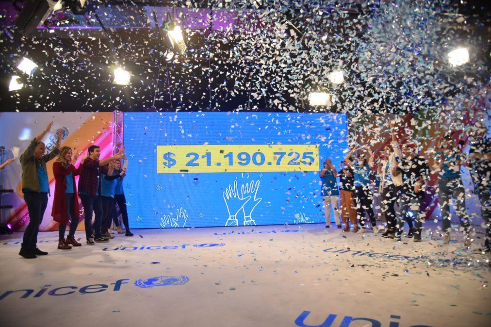 Todo por los niños superó la meta y recaudó más de $ 21 millones