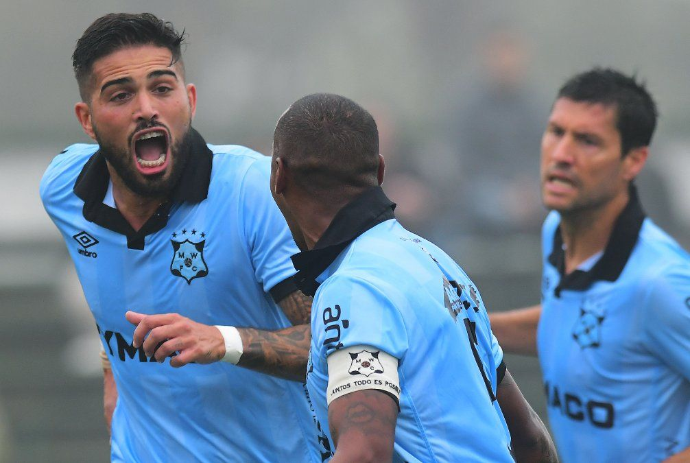 Wanderers hizo cuatro goles este fin de semana. Albarracín y Nacho González fueron protagonistas