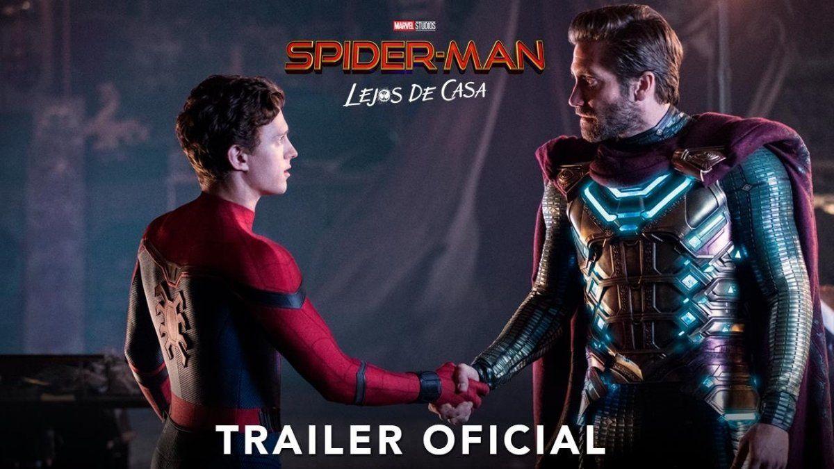 Lanzan nuevo trailer de Spider-Man: Lejos de Casa