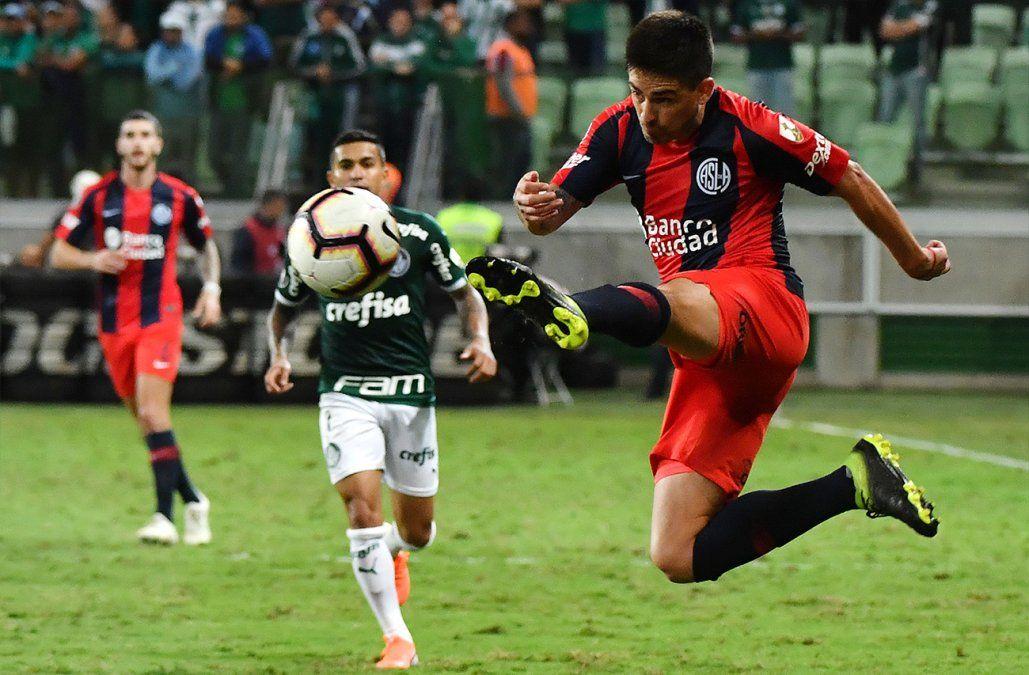 Palmeiras a octavos como cabeza de Grupo F al ganarle 1-0 a San Lorenzo