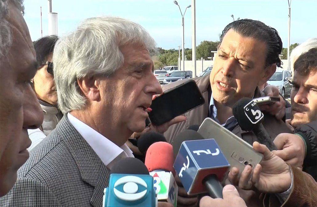 Vázquez sobre Sartori: Capaz que se puede proponer hacer todas las calles en bajada