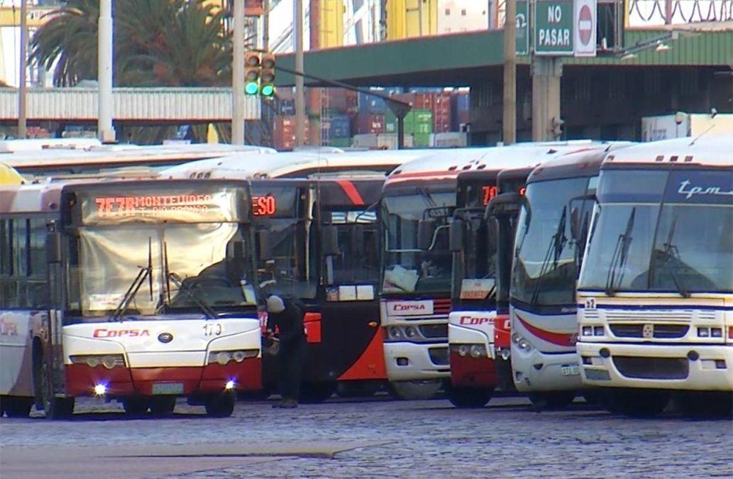 Sindicato de ómnibus suburbanos paran el domingo por el clásico