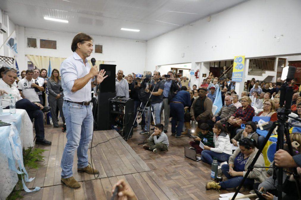 Lacalle Pou apuntó al gobierno e instó a no desperdiciar el tiempo en la relación con Brasil