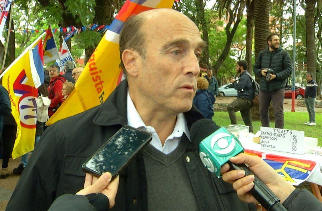 Daniel Martínez recorrió el interior y el principal reclamo que recibió fue el empleo
