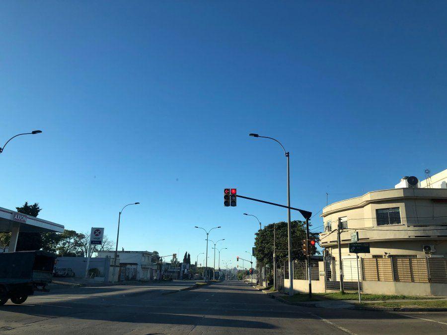 Domingo claro y algo nuboso, con temperaturas máximas de 20ºC