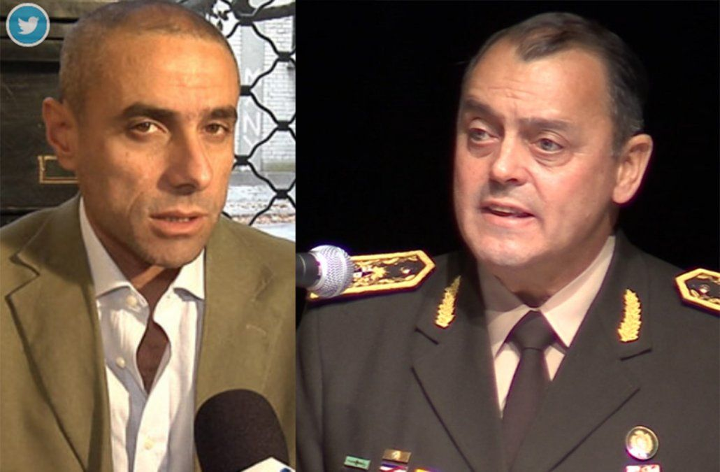 Denuncia de comandante del ejército a periodista Gabriel Pereyra