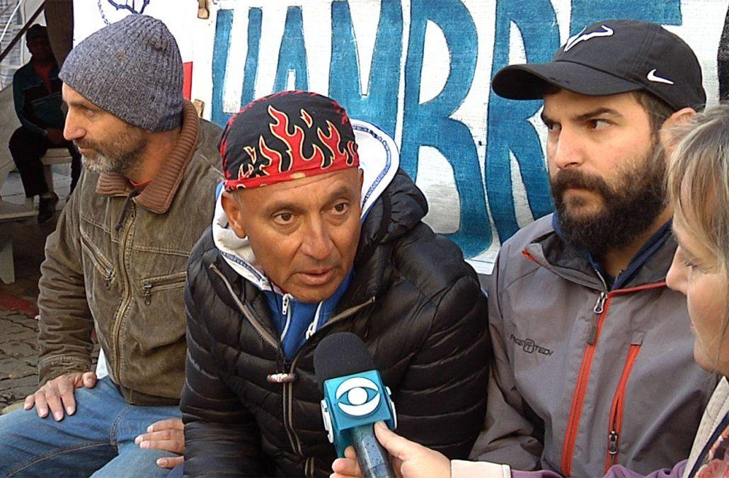 Uno de los trabajadores del gas abandona la huelga de hambre por problemas de salud