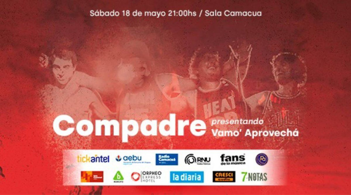 Compadre: presentación oficial de su nuevo disco Vamo Aprovecha