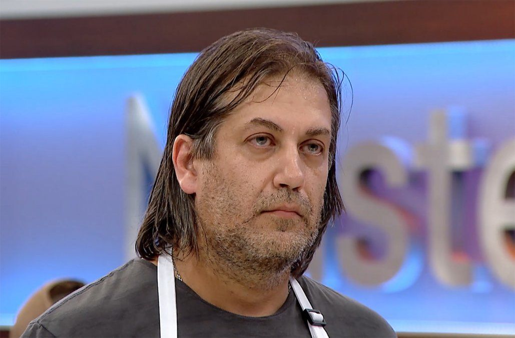 Juan Carlos fue eliminado de MasterChef por sus raviolones de queso brie