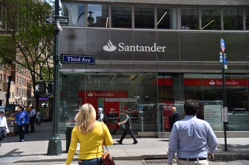 ElbancoespañolSantander esel mayor de Europa por capitalización bursáti