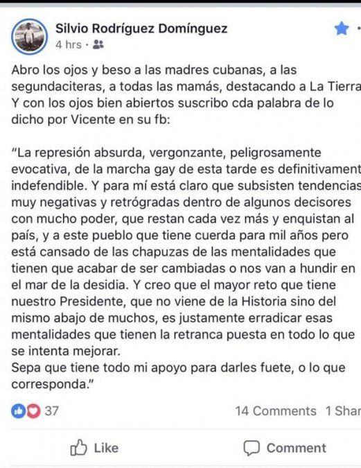 Cuba reprime marchas del colectivo LGTB por tensiones del contexto internacional